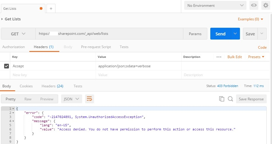 Use Postman and Azure AD to send REST request to SharePoint